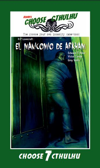 El manicomio de ArkhamChoose Cthulhu(2.0 Books, 2018)edición vintage español