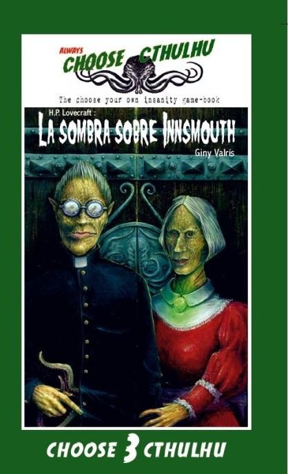 La sombra sobre InnsmouthChoose Cthulhu(2.0 Books, 2018)edición vintage